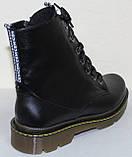 Ботинки высокие женские осенние кожаные от производителя модель БМ322-1Д, фото 4