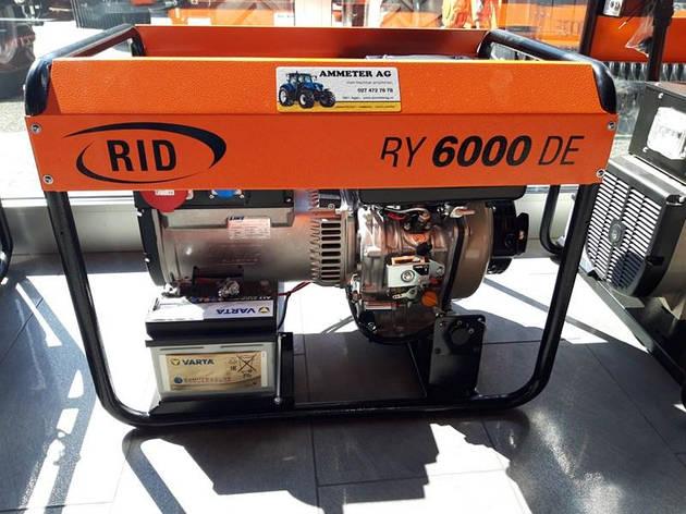 RID  RY 6000 DE (4,4 кВт), фото 2