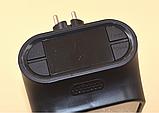 Портативный мини тепловентилятор Камин Flame Heater 1000 W(texno), фото 2