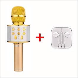 Bluetooth мікрофон для караоке зі зміною голосу WSTER WS-858