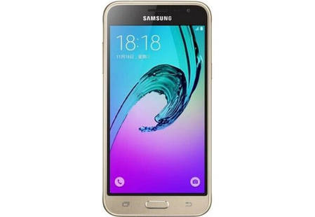 Смартфон Samsung Galaxy J3 J320H Gold Stock B-, фото 2