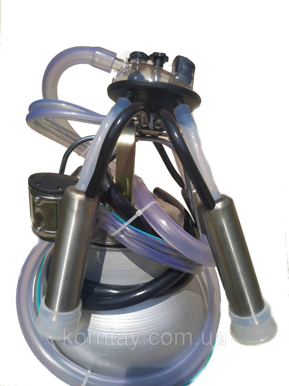 Аппарат доильный (Попарное Доение 240 см³ + силиконовая доильная резина)