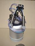 Аппарат доильный (Попарное Доение 240 см³ + силиконовая доильная резина), фото 2