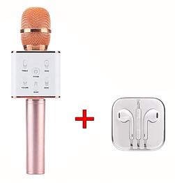 Bluetooth мікрофон для караоке Q7 Блютуз микроафон