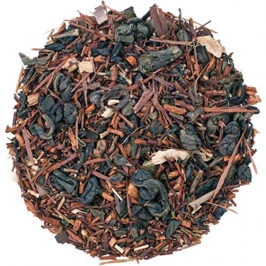 Чай Рассыпной Заварной Заряд бодрости крупно листовой Tea Star 100 гр Германия