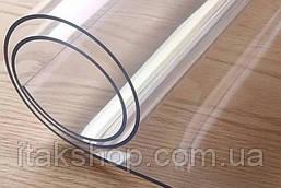Мягкое стекло в рулонах Прозрачная защитная скатерть Soft Glass (Ширина - 1.4м, Длина - 10м, Толщина - 1,5мм), фото 3