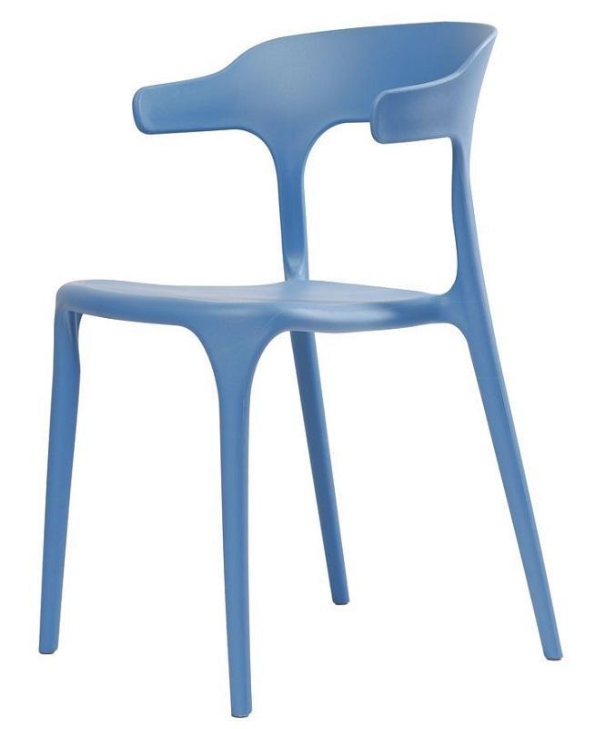 Стул Lucky голубой (111890) пластик Concepto