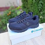 Чоловічі зимові кросівки Columbia Firecamp (чорні) 3540, фото 8