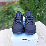 Чоловічі зимові кросівки Columbia Firecamp (чорні) 3540, фото 4