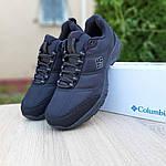 Чоловічі зимові кросівки Columbia Firecamp (чорні) 3540, фото 2