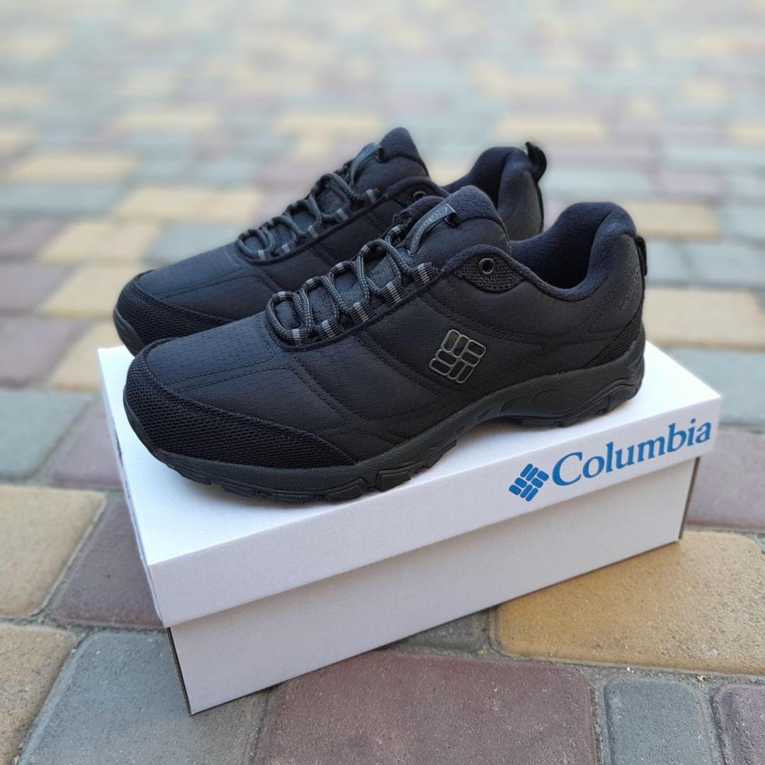 Чоловічі зимові кросівки Columbia Firecamp (чорні) 3540