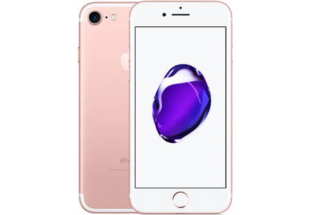 Смартфон Apple IPhone 7 128 GB Rose Gold Stock А-, фото 2