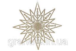 Новогодний декор Рождественская звезда 24см, 30шт