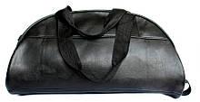 Вместительная спортивная сумка черного цвета 14515