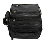 Мужская вместительная сумка через плече (W-2665), фото 5