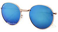 Солнцезащитные очки Ray Ban Round Metal 3448P 112/17 Polarized Blue, фото 3