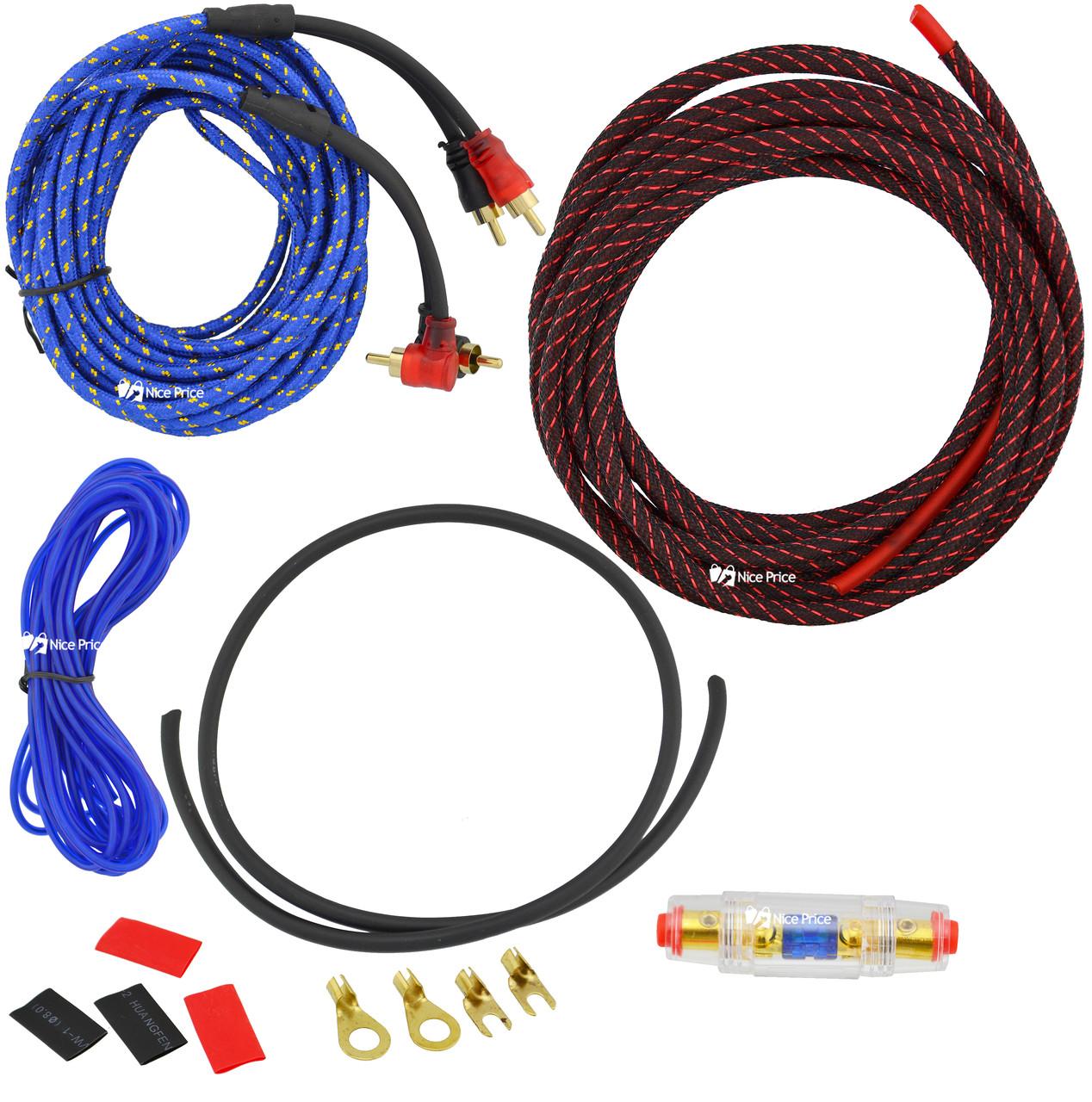 Комплект проводов для сабвуфера Sound Tech 10GA+C011 (5600)