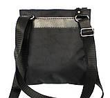 Мужская сумка удобная стильная черная (264), фото 3