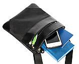 Мужская сумка удобная стильная черная (264), фото 5