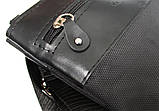 Мужская сумка удобная стильная черная (264), фото 7