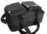 Мужская сумка вместительная 2 в 1 черная (2610), фото 5