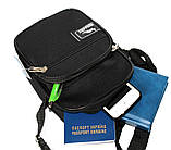 Мужская сумка компактная на плечо и пояс 2661, фото 6