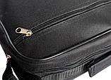 Мужская повседневная вместительная сумка под формат А-4 (W-2600), фото 7