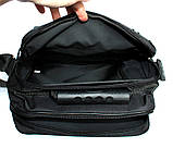 Мужская большая качественная сумка 2в1 (2281), фото 4