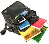 Мужская большая качественная сумка 2в1 (2281), фото 6