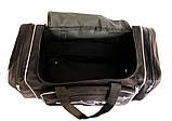 Большая дорожная спортивная мужская сумка (W 2686), фото 4