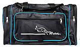 Большая дорожная спортивная мужская сумка (W 2686), фото 7