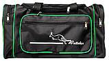 Большая дорожная спортивная мужская сумка (W 2686), фото 8