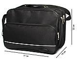Мужская тканевая сумка для мужчин через плечо (2130), фото 5