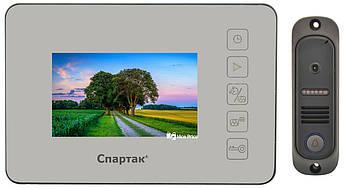 Домофон зеркальный Спартак 4 дюйма JS 438 (2185)