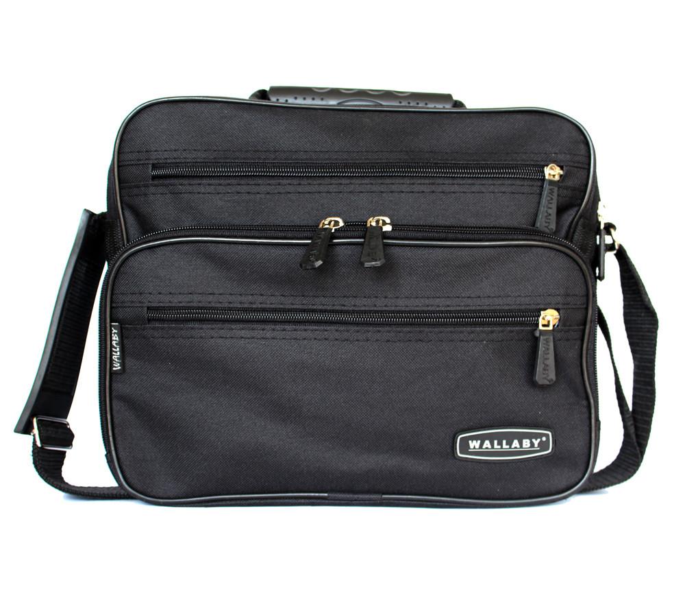 Тканевая вместительная прочная сумка для мужчин (2411)