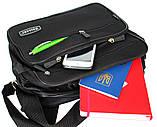 Тканевая вместительная прочная сумка для мужчин (2411), фото 2