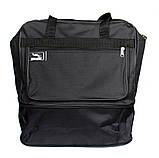 Вместительная хозяйственная сумка тканевая (2071), фото 6
