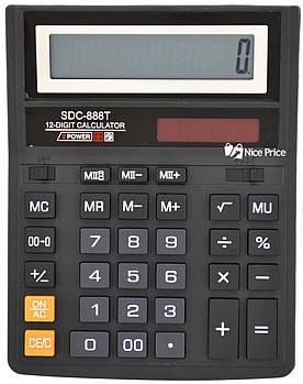 Настольный калькулятор SDC-888T (большой) (0426)