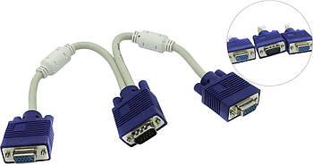 Разветвитель видеосигнала VGA - 2 VGA (18149)