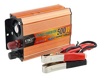 Преобразователь напряжения(инвертор) 24-220V 500W Gold (4147)
