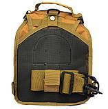 Эргономический однолямочный рюкзак - сумка водоотталкивающий (50413), фото 5