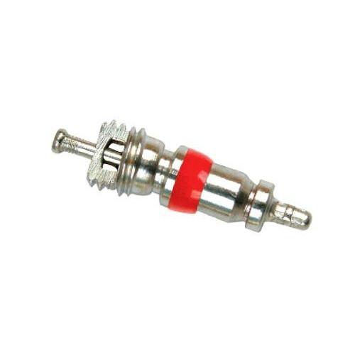 Золотник (10 шт в комплекте) для вентиля короткий с красным уплотнительным кольцом (ниппель)