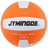 М'яч волейбольний з LED Підсвічуванням Jymingde 5 розмір, фото 2