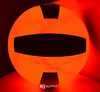 М'яч волейбольний з LED Підсвічуванням Jymingde 5 розмір, фото 3