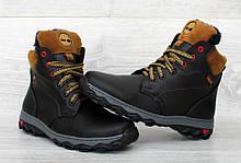 Подростковые ботинки зимние черного цвета (Сгд-22ч)