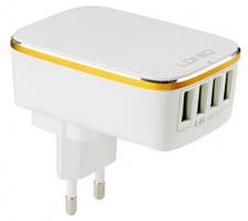 Адаптер мережевий Ldnio A4404, 4USB, 4.4 A, білий
