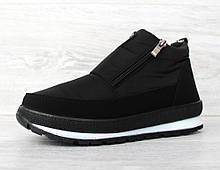 Женские зимние ботинки - кроссовки на платформе (Бт-5ч)