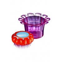 Детская расческа для волос Magic Flowerpot Popping Purple 1шт/ Tangle Teezer (Тангл Тизер)