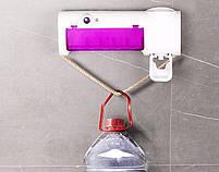 Диспенсер для зубной пасты и стерилизатор для щеток Toothbrush sterilizer JX008 (14377), фото 7
