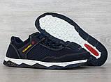 43 р. !!! Кросівки чоловічі літні сітка синього кольору (Кл-23сбк), фото 5